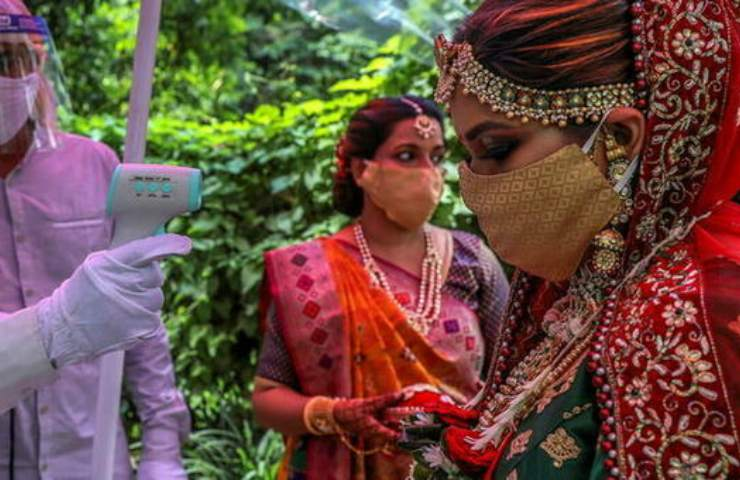 sposa indiana morta