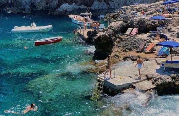 Spiaggia mare (Instagram)