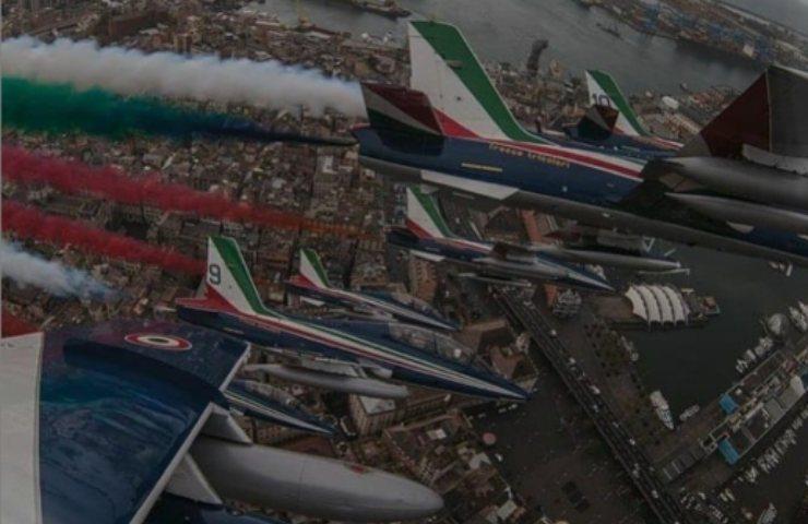 Festa della Repubblica Italiana Frecce Tricolori (Instagram)