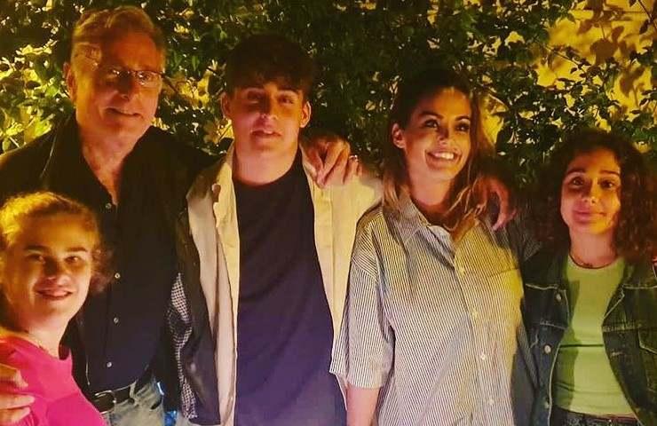 Sonia Bruganelli famiglia (Instagram)