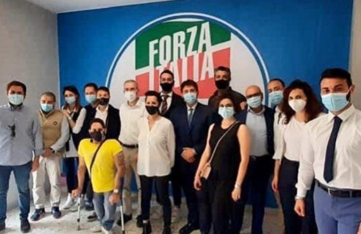 Sostenitori Forza Italia (Instagram)