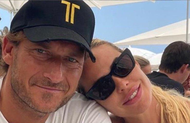 Totti e Ilary (Instagram)