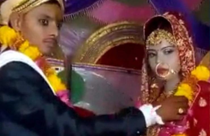 sposa morta in india