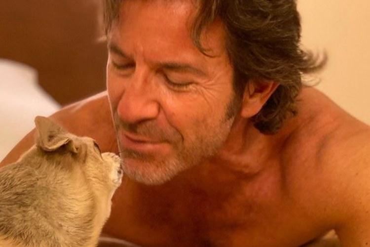 Paolo Conticini cane