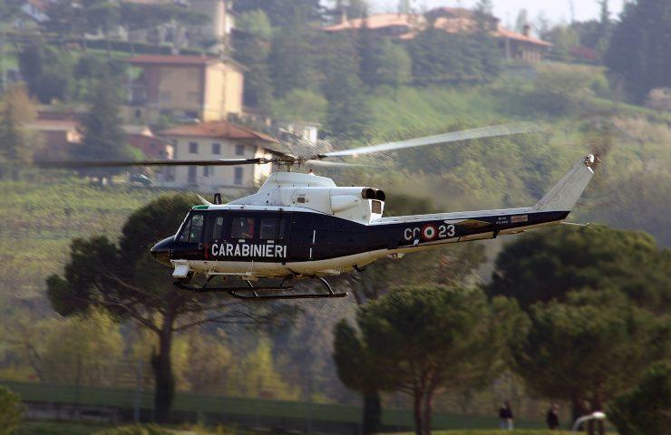 banda degli appartamenti elicottero